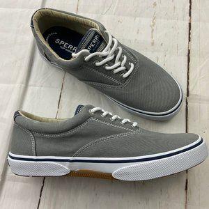 Sperry MENS Haylard Gray Lace Up Sneaker